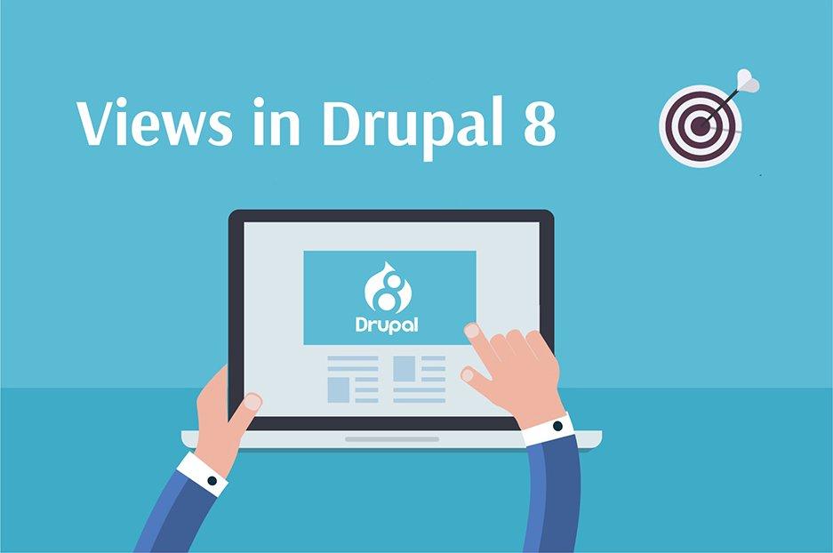 Views in Drupal 8