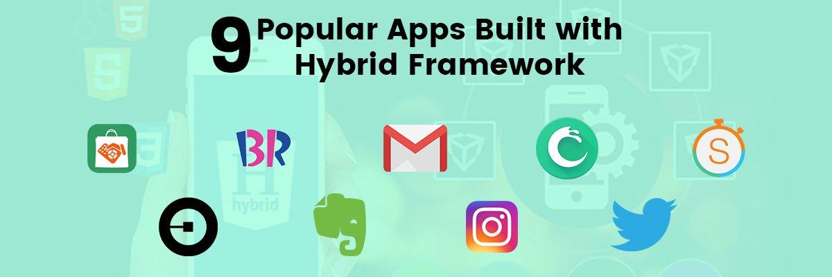 Best Hybrid App Examples