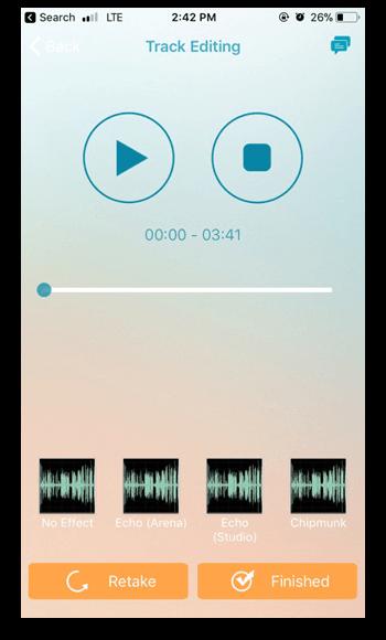 music app screenshots