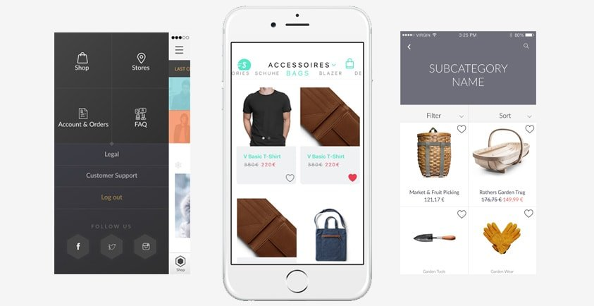 Shoppen App is a cloud based applications