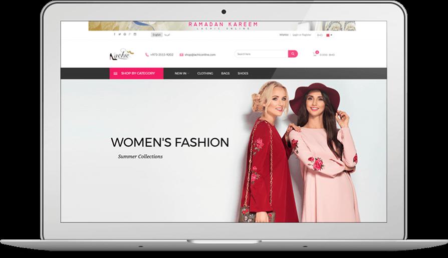 Women Fashion eCommerce Website Development