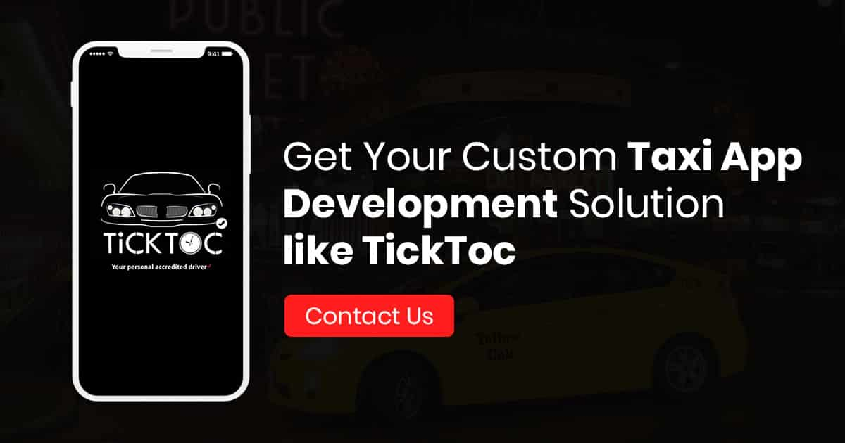 Top Taxi App Development Company