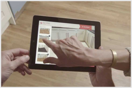 Virtual Floor Fitting App for iPad & iPhone