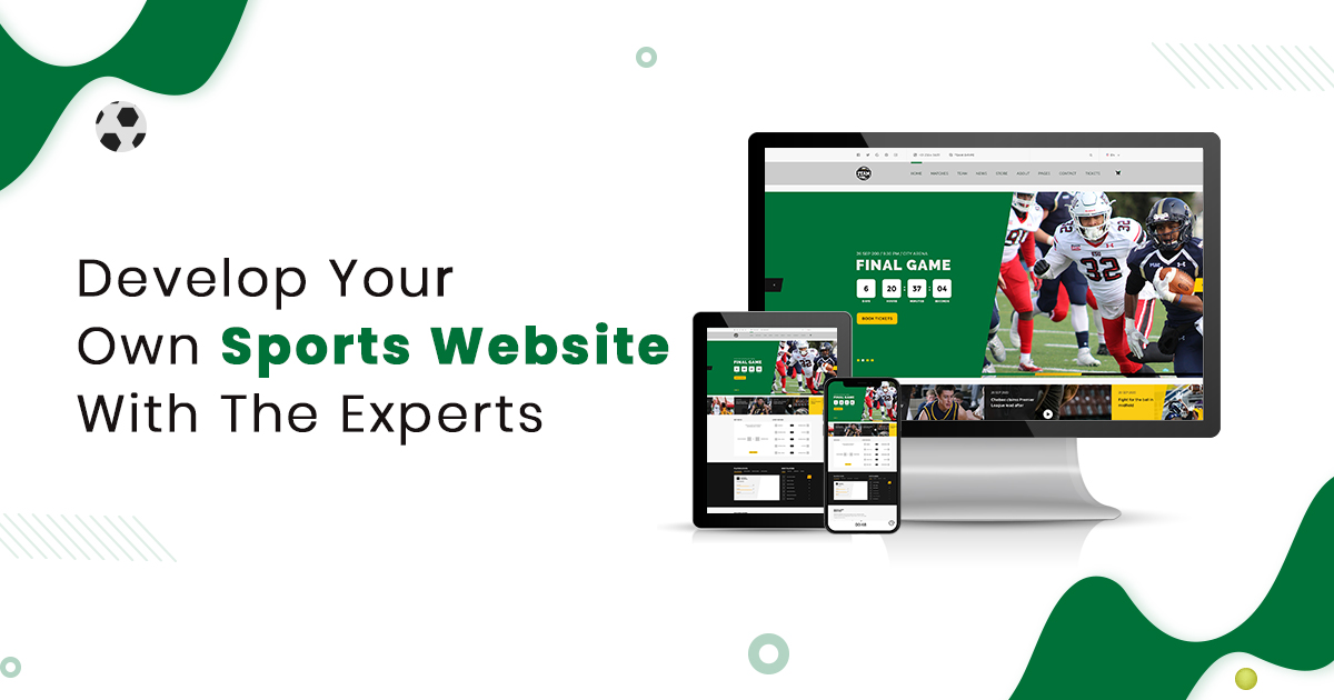 Best Sports Website Development