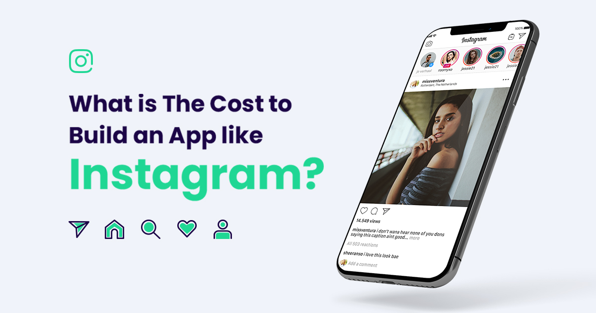 Cost to Build an App like Instagram