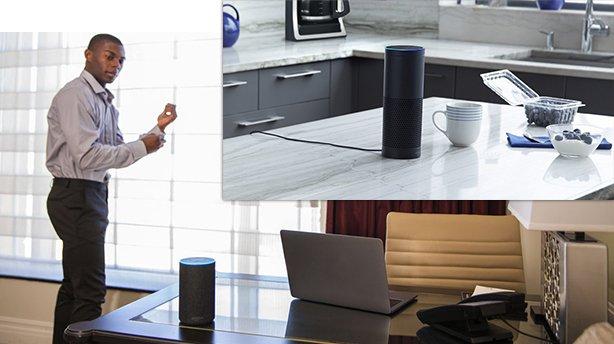 Alexa at your desk