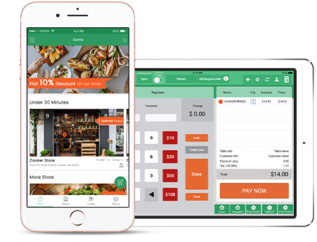 Mobile-POS-System for Restaurant