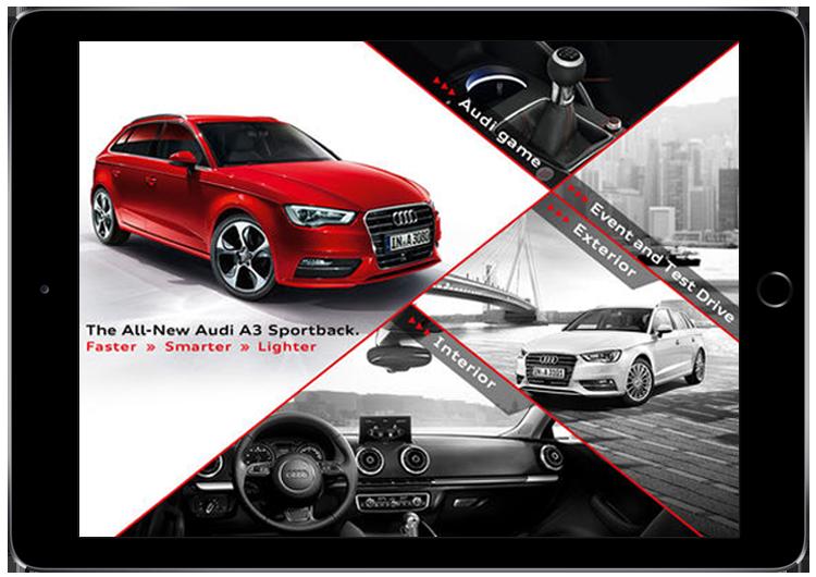 Audi-A3-HK - AR In Automotive Industry