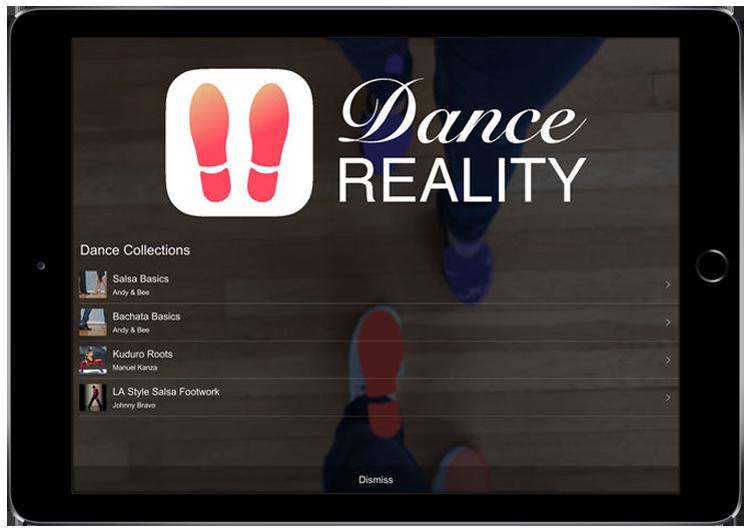 Dance Reality AR App for Entertainment
