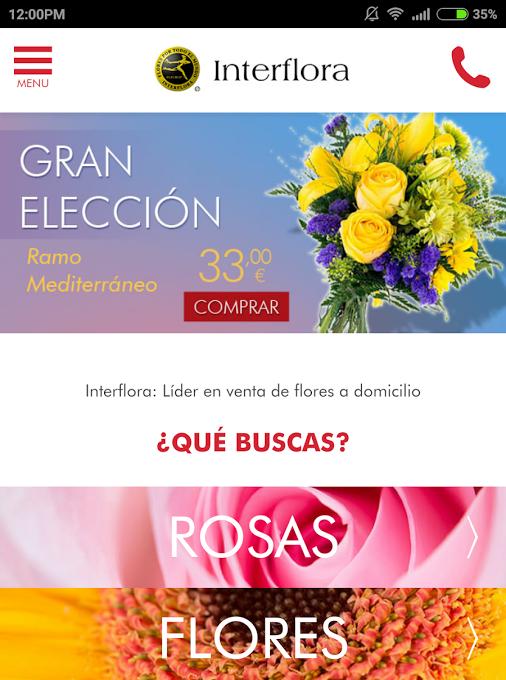 Interflora Flower App