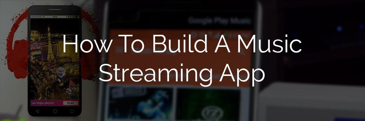 Build an app like Spotify
