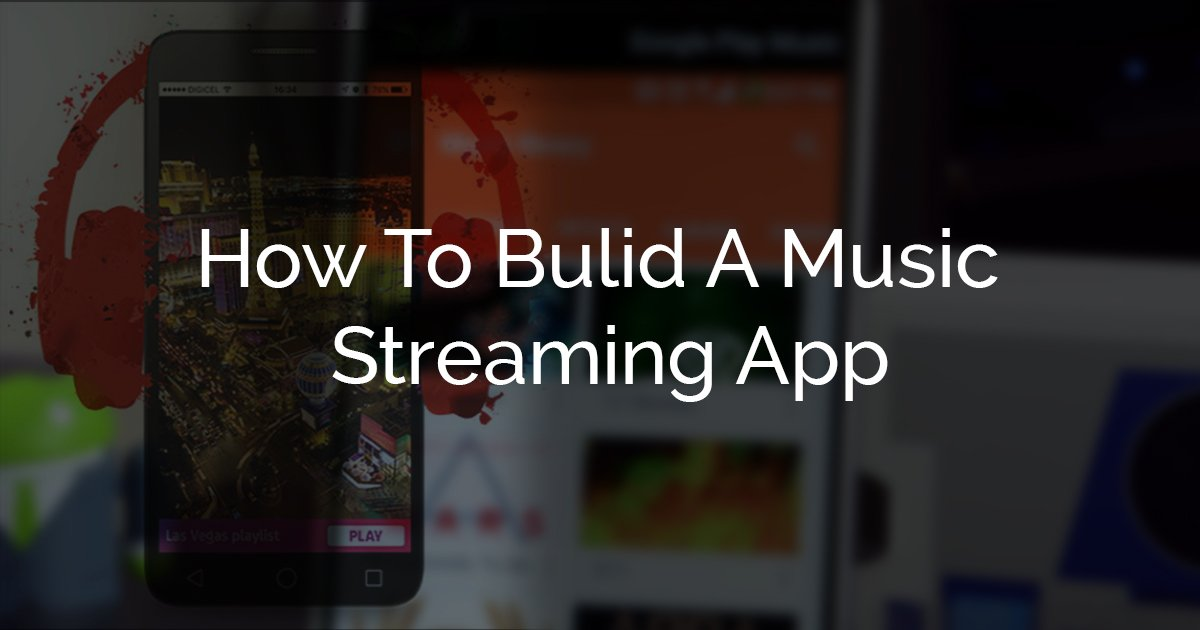 Build an app like Spotify