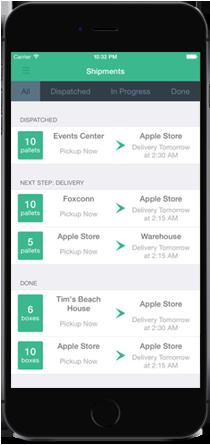Cargomatic Mobile App 2