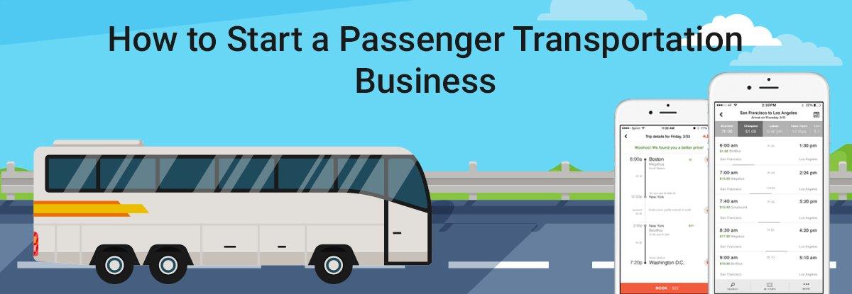 Start a Passenger Transportation