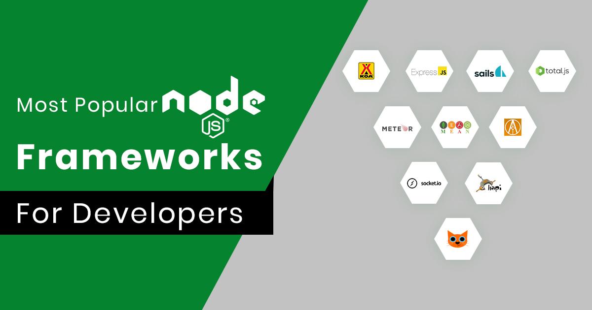 Best Node.js Frameworks