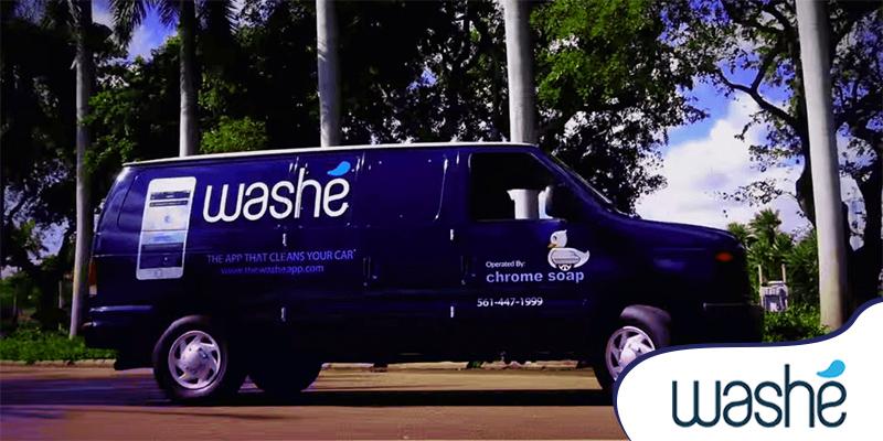 On Demand Car Wash App like Washe