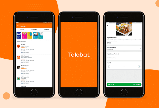 build food delivery app like Talabat