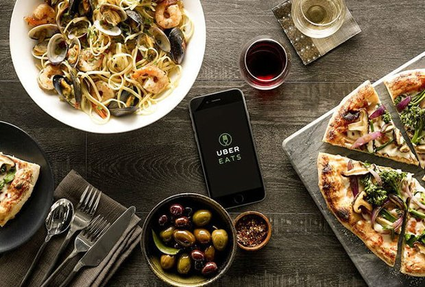 best food delivery service app like UberEats