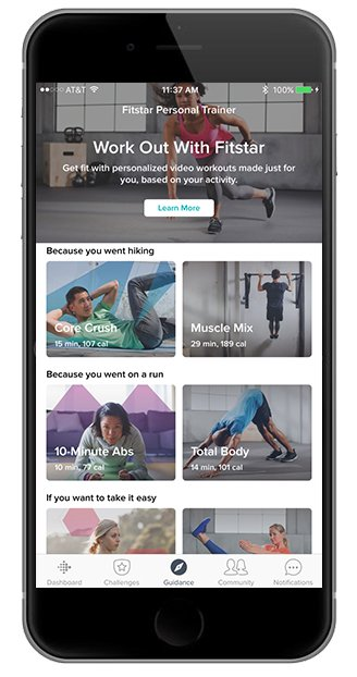 create your own workout app