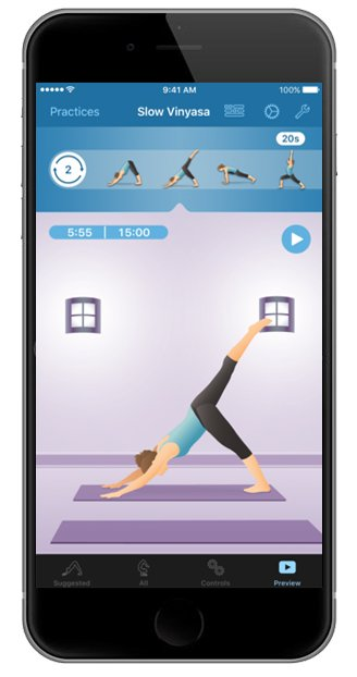 create your own meditation sequence app