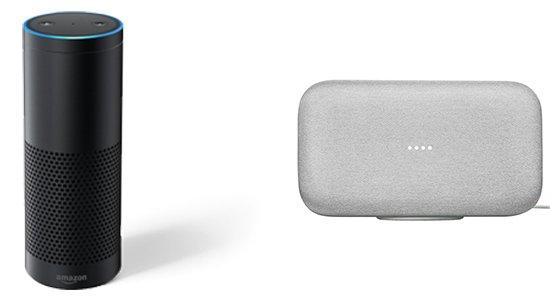 Amazon Echo Plus Google Home Max