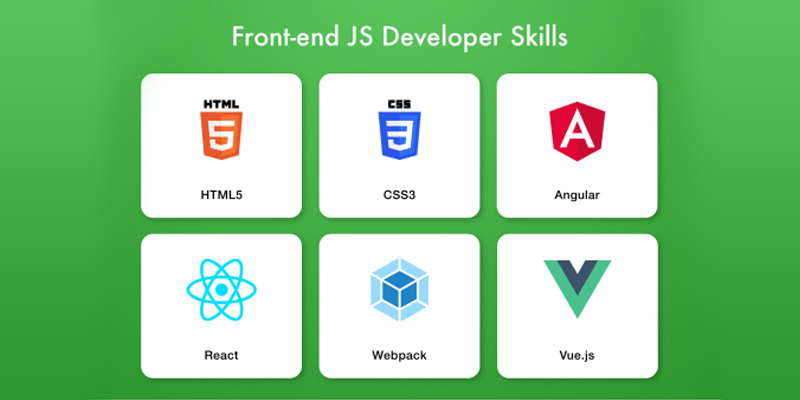 What are the Skills of the Front End JavaScript developer?