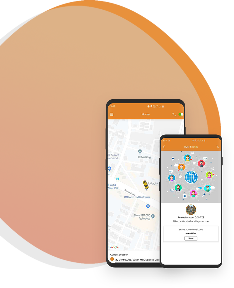 Find Taxi Booking Application