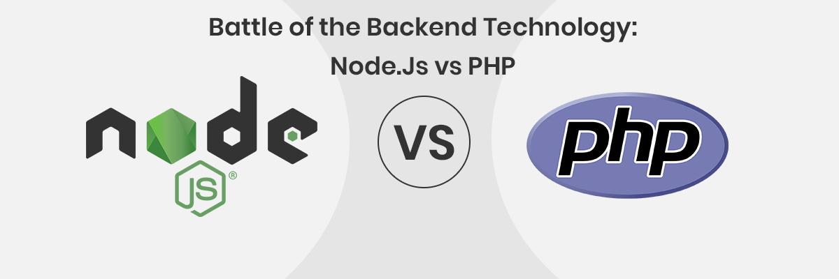 node.js vs php : Framworks
