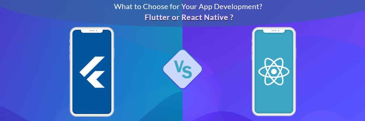google flutter vs react native