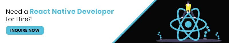React Native Developer for hire