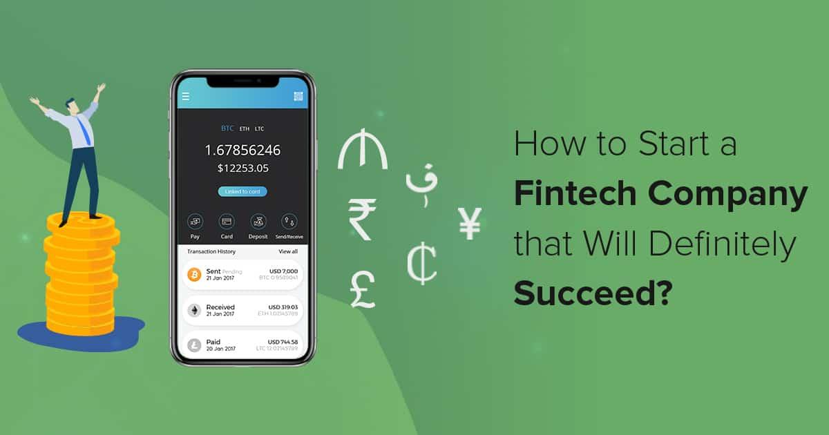 Starting A FinTech Company