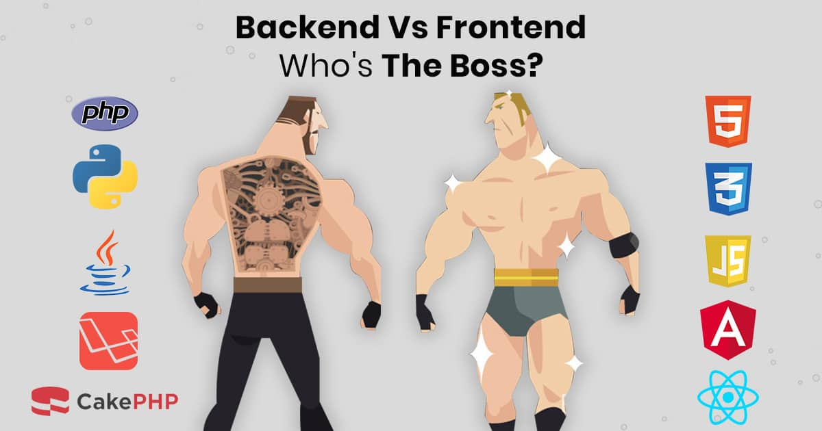 Backend vs Frontend 2020