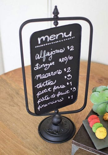 Restaurant Creative Menu Ideas