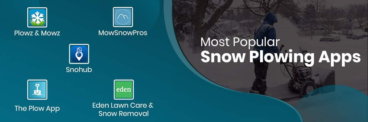 Most Popular Snow Plowing Apps
