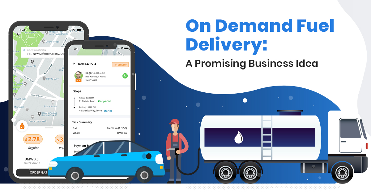 On Demand Gas Delivery Service App
