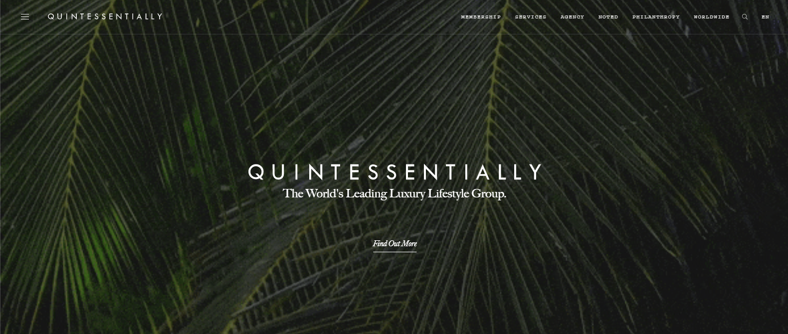 Quintessentially is concierge company