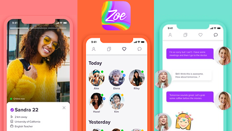 Zoe lesbian dating app