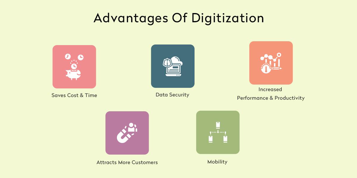 Best Advantages of Digitization