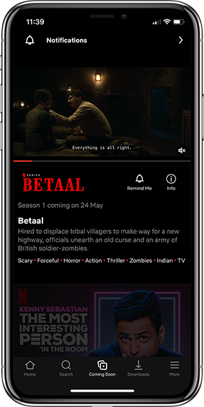 Netflix App Notification