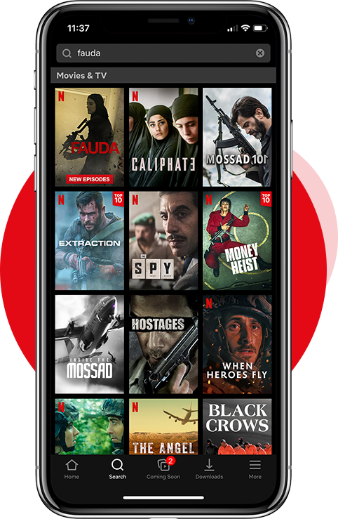 Features of Netflix App