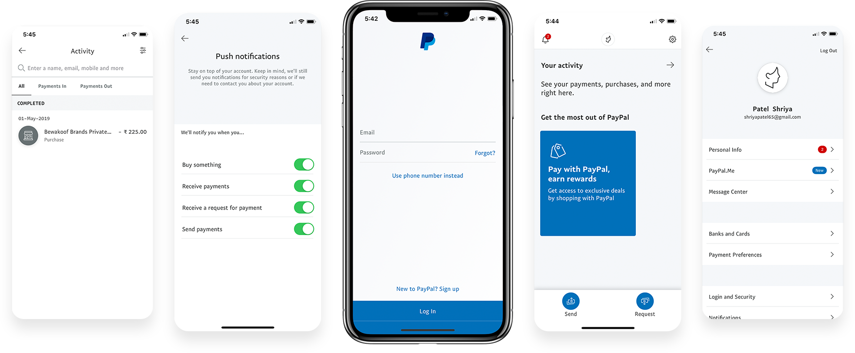 Best PayPal App Screenshots
