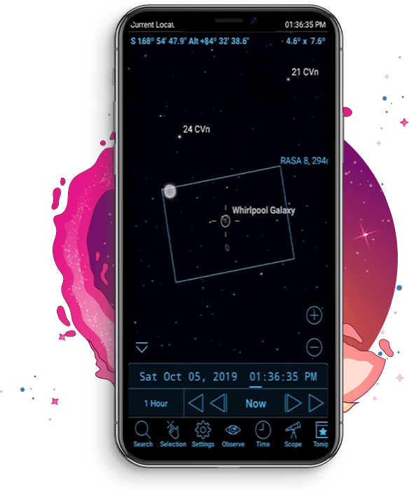 Skysafari Astronomy App