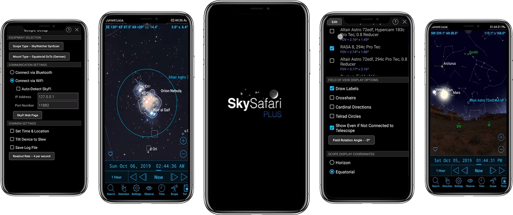 Astronomy App Screenshot
