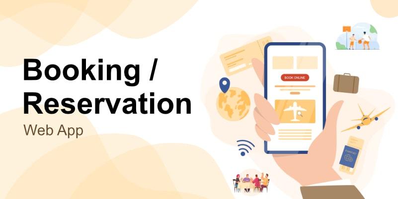 Reservation Web Application