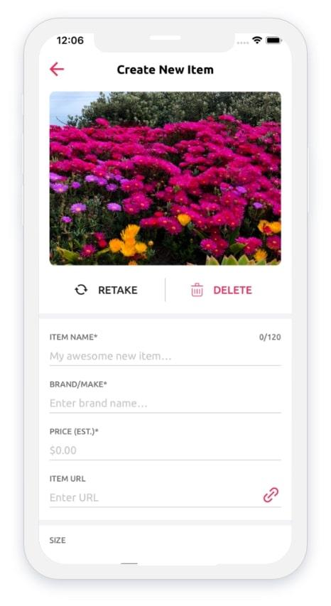 Best Gift App Screen