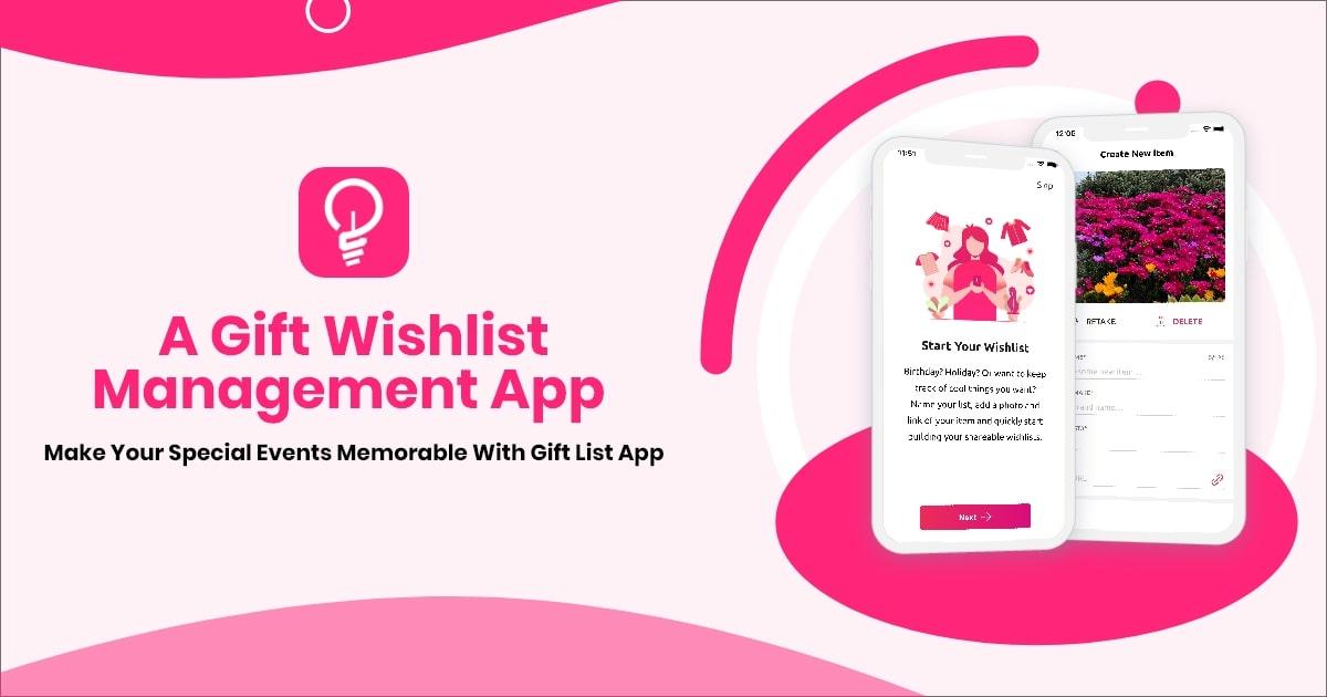 Best Gift List App