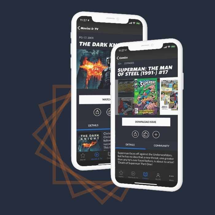 Comic App like DC Universe