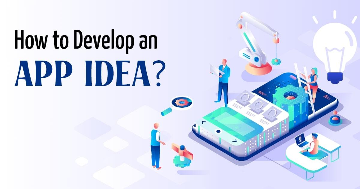 Developing an app idea
