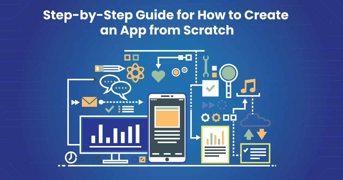 How to build an application from scratch